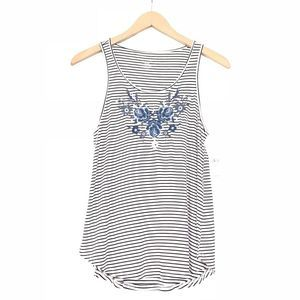 NEW American Eagle Soft & Sexy Stripe Embroidered